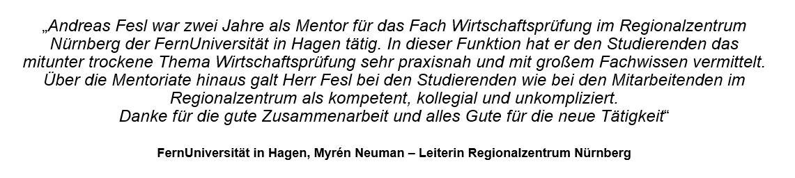 Referenz FernUni Hagen